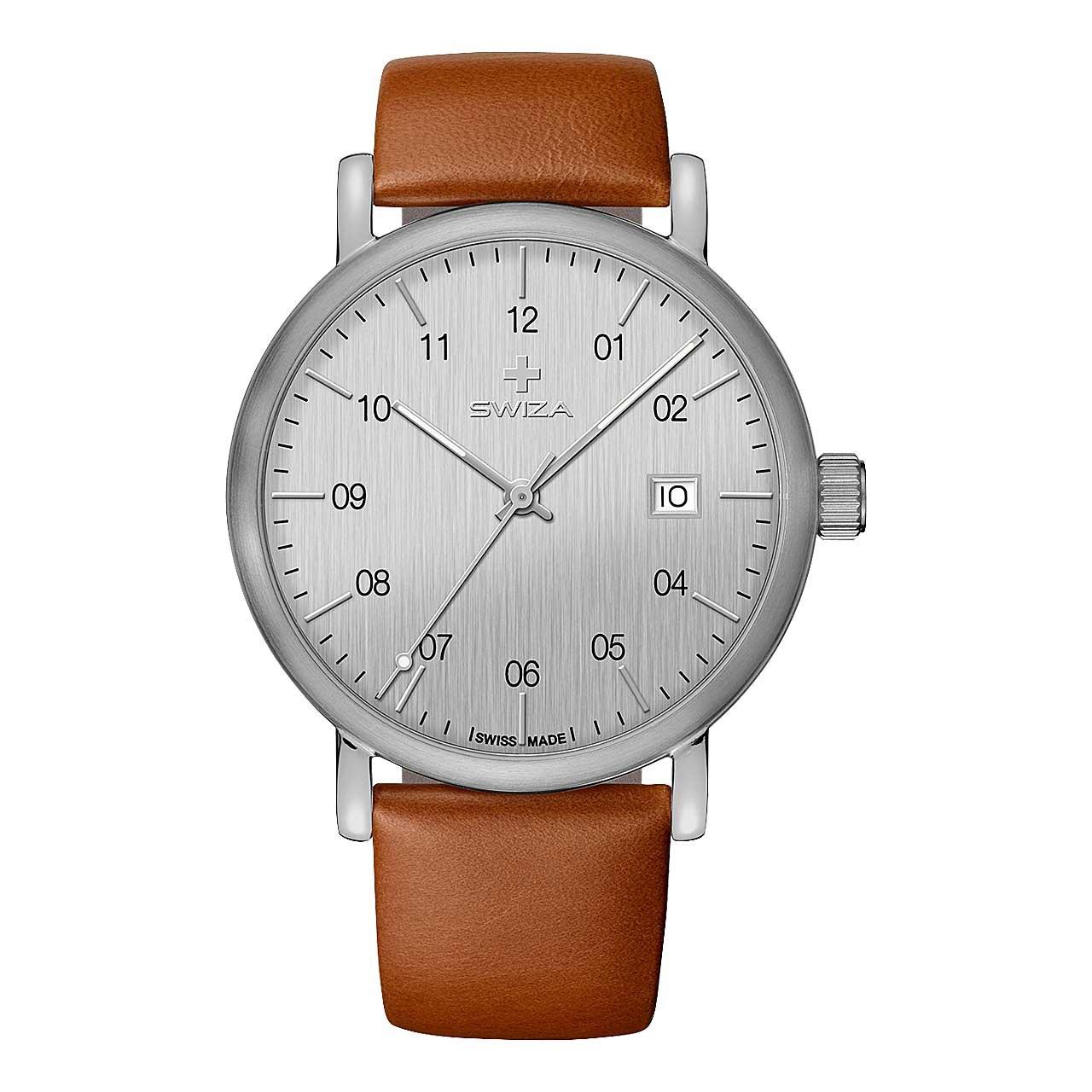 Armbanduhr ALZA BROWN