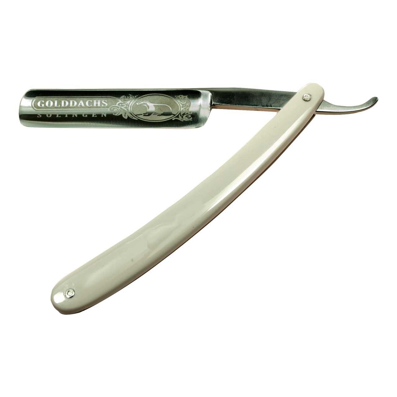 Rasiermesser, Carbonstahl, Kunststoffgriffschalen